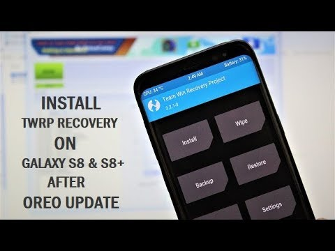 How To Install TWRP Recovery On Galaxy S8 & S8+ After Oreo Update