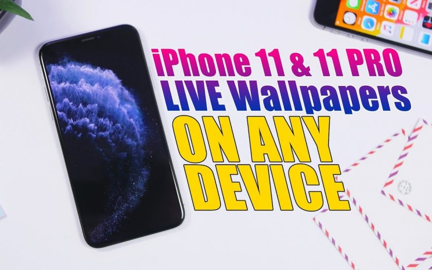 Get The NEW iPhone 11 & 11 Pro LIVE Wallpapers On Any Device !