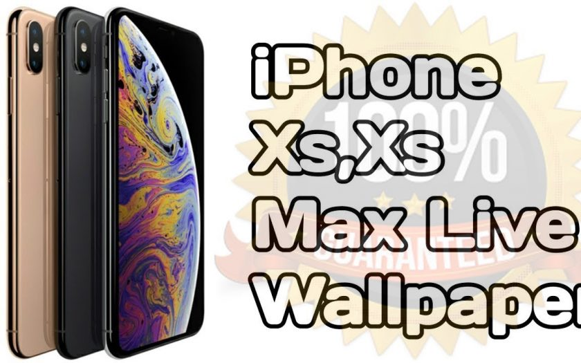 how to get live wallpapers for iphone xr 100% working video tutorial 2019 Must Try!