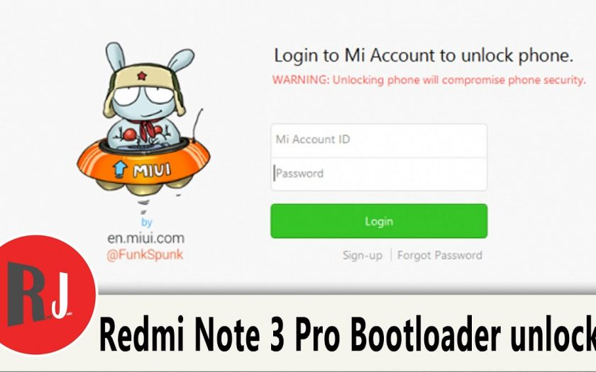 How To Unlock The Bootloader On The Redmi Note 3 Pro