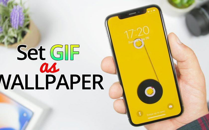 Set Any GIF As A LIVE iPhone Wallpaper – 2019 !