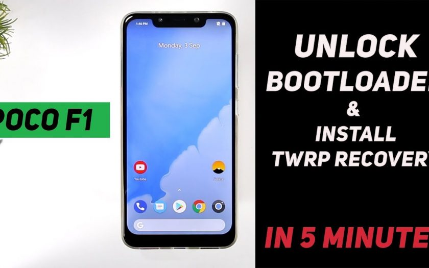 Poco F1 – How to Unlock Bootloader & Install TWRP Recovery (IN JUST 5 MINUTES)