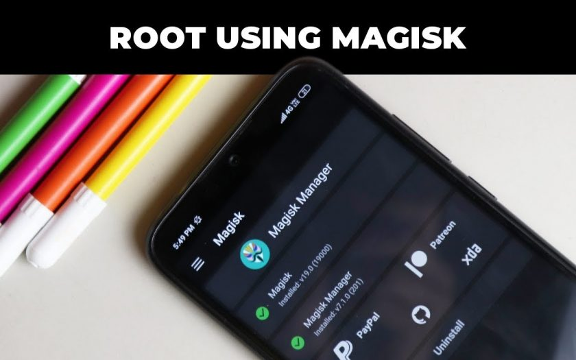 Install Magisk and Root Redmi Note 7 Pro