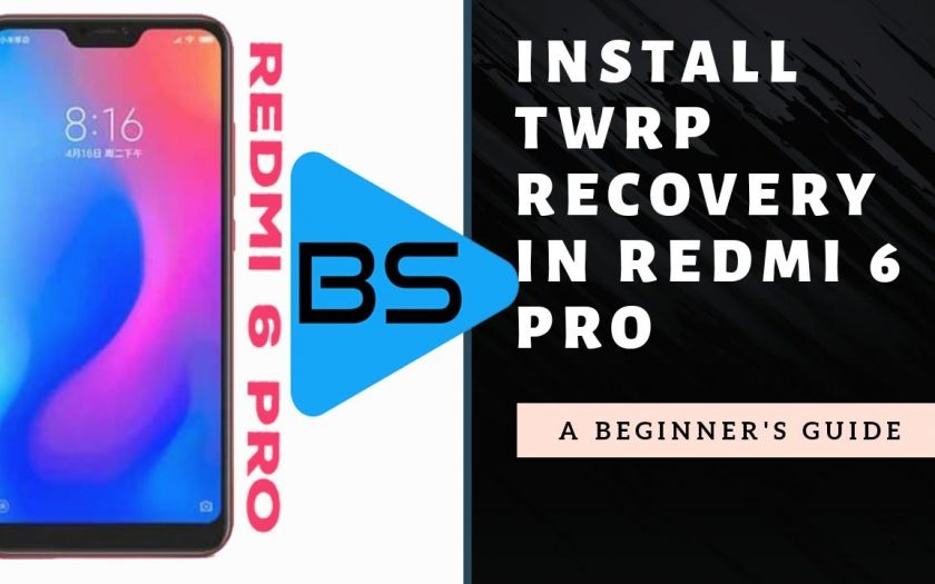 How to flash or install twrp recovery in Redmi 6 pro and root(antirollback) (hindi)
