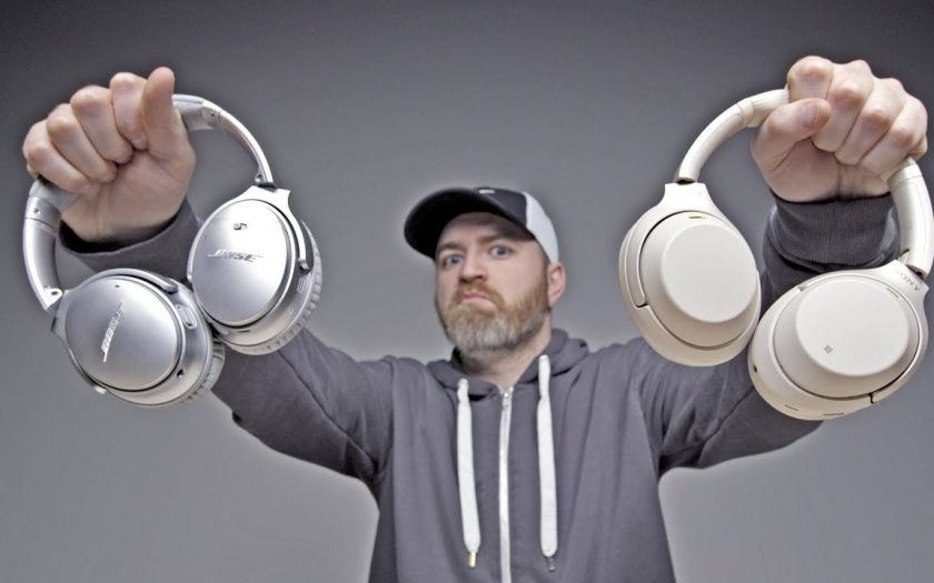 The Best Noise Cancelling Headphones… Bose or Sony?