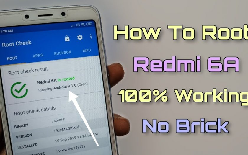 How To Root Redmi 6A Without Brick 100% Working Method ??