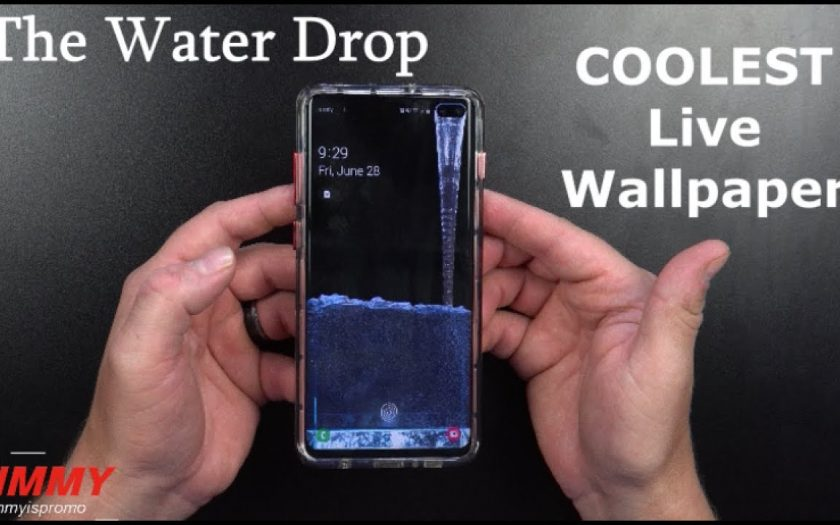 The Water Drop Live Wallpaper – Best Live Wallpaper To Date
