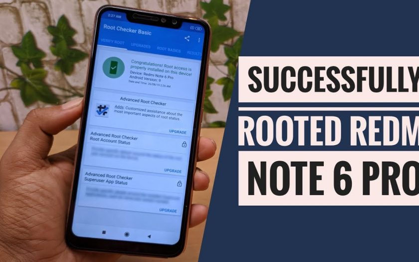 How to ROOT REDMI NOTE 6 PRO Without Pc