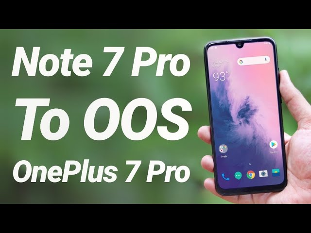 Install Stable Oxygen OS (OP7 Pro) on Redmi Note 7 Pro