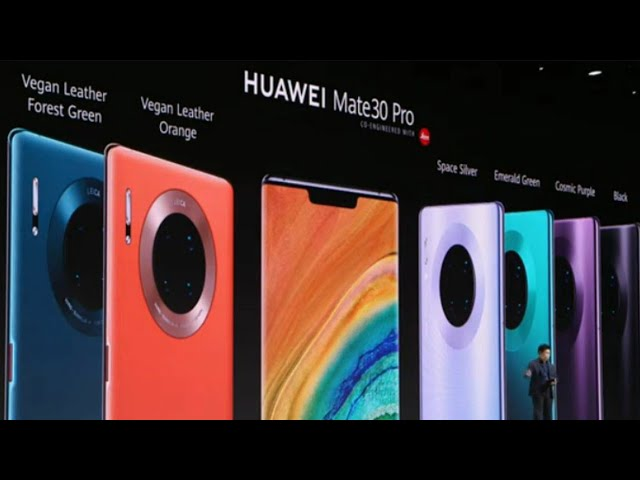 Huawei Mate 30 Pro – Launch Event (Full Video)