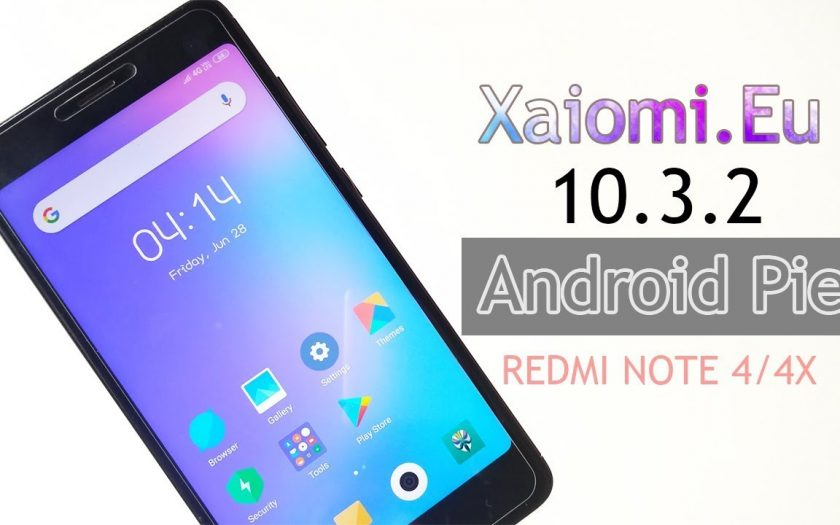 Xiaomi.Eu Stable V10.3.2 Android Pie ROM For Redmi Note 4