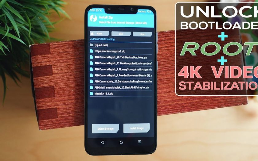 Xiaomi Poco F1 Rooting, TWRP, 4K EIS, Unlock Bootloader & Backup – 2019 – The Easy Way