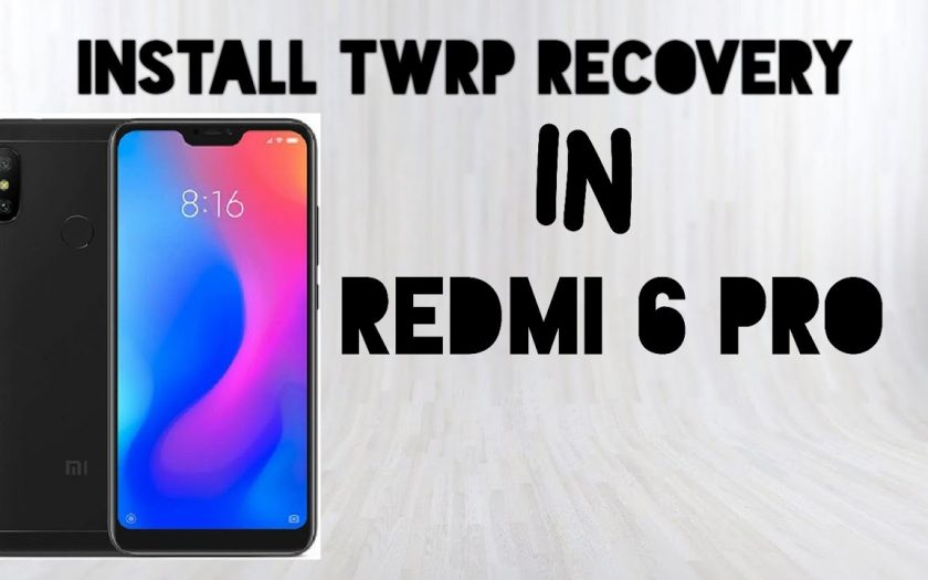 How to flash install twrp recovery in Redmi 6 pro (Hindi)