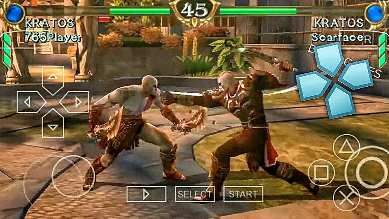 Top 10 Psp Fighting Games Android Ppsspp Emulator Hd High Graphics