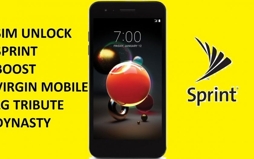 SIM Unlock Sprint / Boost / Virgin Mobile LG Tribute Dynasty For Use On GSM Carriers!