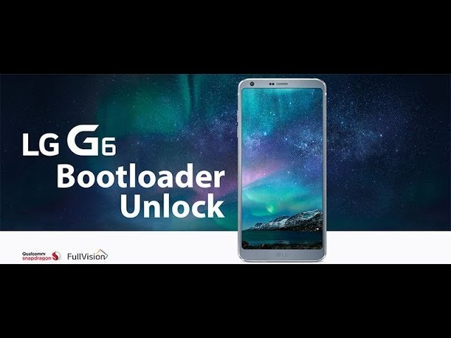 [??? ??]|LG G6| Bootloader UNLOCK TWRP and ROOT