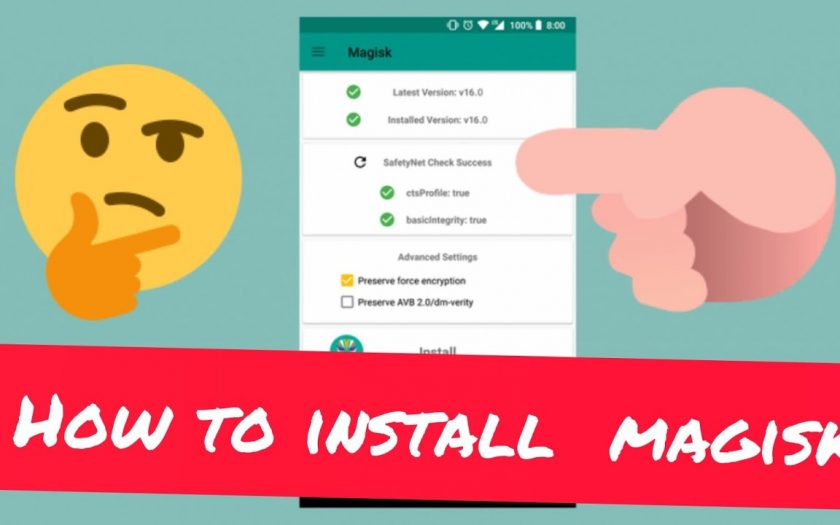 How to install Magisk Manager? without#twrp#cwm? recovery ? 100% working