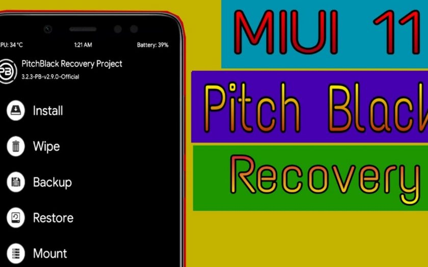 MIUI 11 INSTALL PITCHBLACK CUSTOM RECOVERY ON REDMI NOTE 5 PRO
