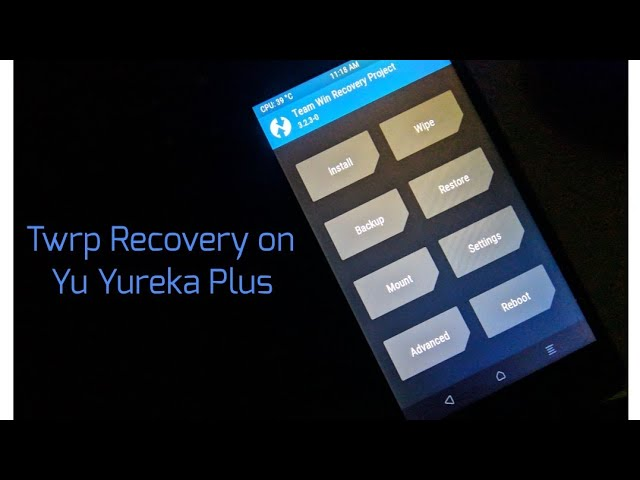 How to Flash Twrp Recovery on Yu Yureka Plus using pc