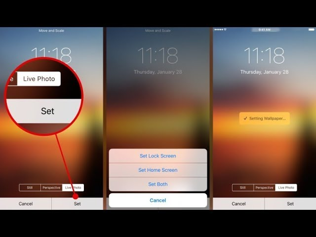 HOW TO GET LIVE PHOTOS FEATURE ON ANY IPHONE IOS 10/11(WITHOUT COMPUTER)(WITHOUT JAILBREAK)