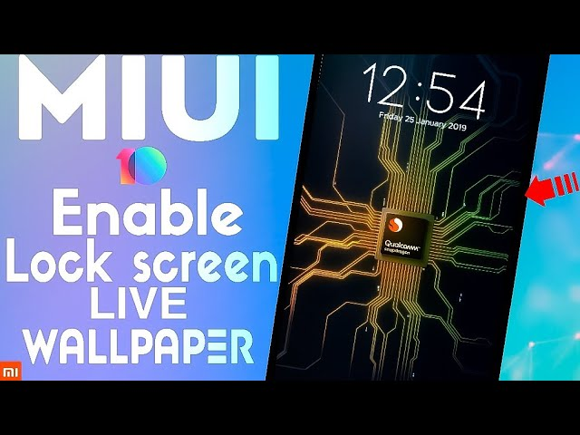 MIUI 10 Enable Lock Screen Live Wallpaper ! (NO ROOT) Any Xiaomi Phones ! Best Features For MIUI 10