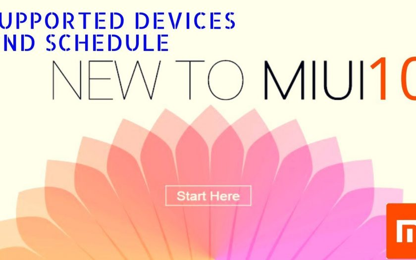 MIUI 10 Developer ROM Schedule and Supported Devices details