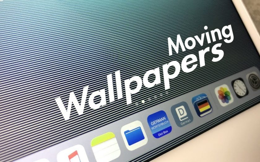 How to Get Moving Wallpaper on iPad –  3D Illusions in iOS 11