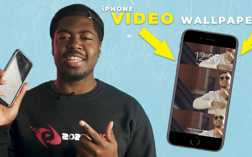 How to Set a VIDEO AS AN iPHONE LOCK SCREEN / Wallpaper | iPhone Tutorial