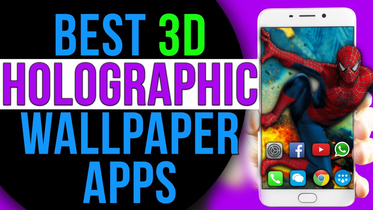 Best Amazing 3D PARALLAX HOLOGRAPHIC Live Wallpaper for ...