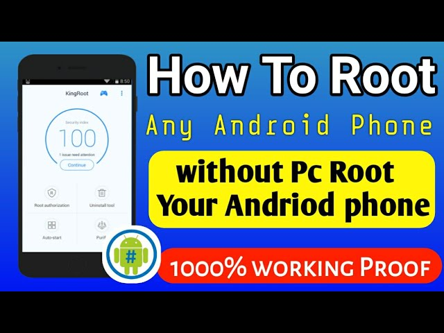 How to root android phone without PC | how to root any android phone
