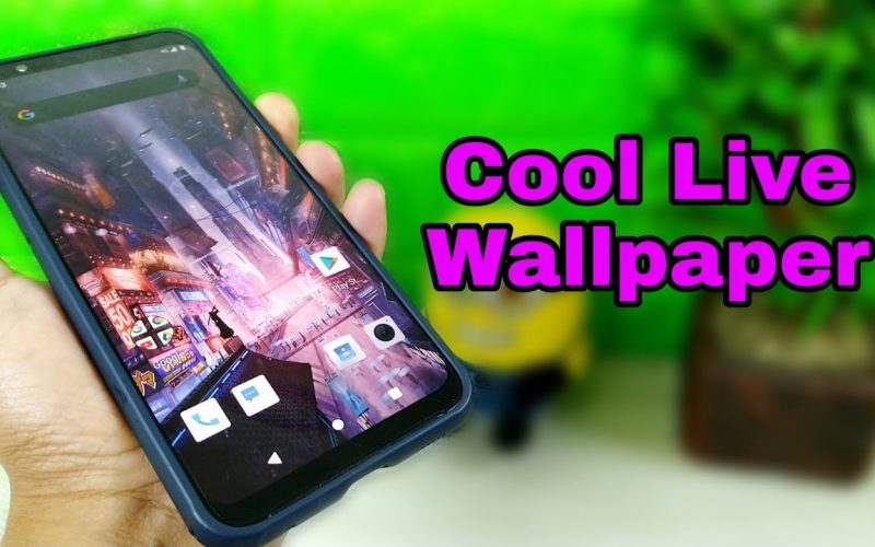 How to make Live Wallpaper on an Android phone