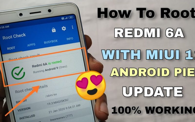 How To Root Redmi 6A With Miui 11 & Android Pie Update | Full Process