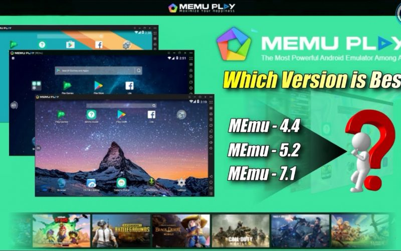 MEmu Emulator Which Version is Best For Low End PC….???