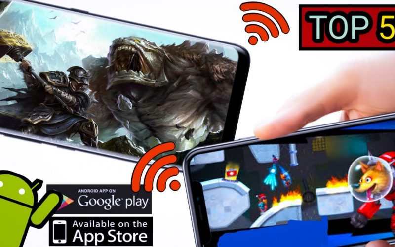 TOP 5   Multiplayer Games For Android/iOs   High Graphics 2020