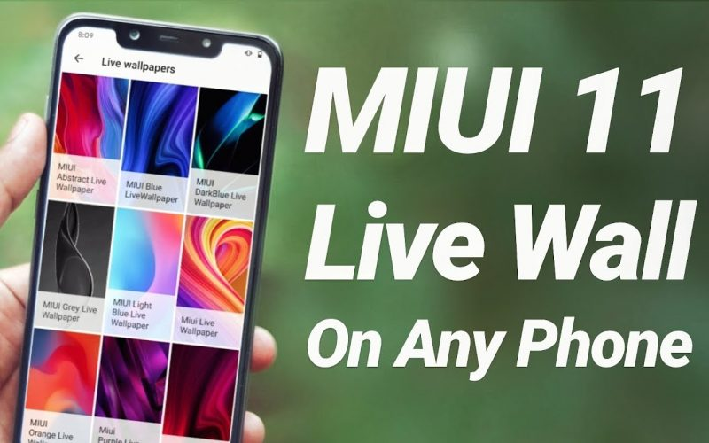 Download MIUI 11 Live Wallpapers on Any Phone ?