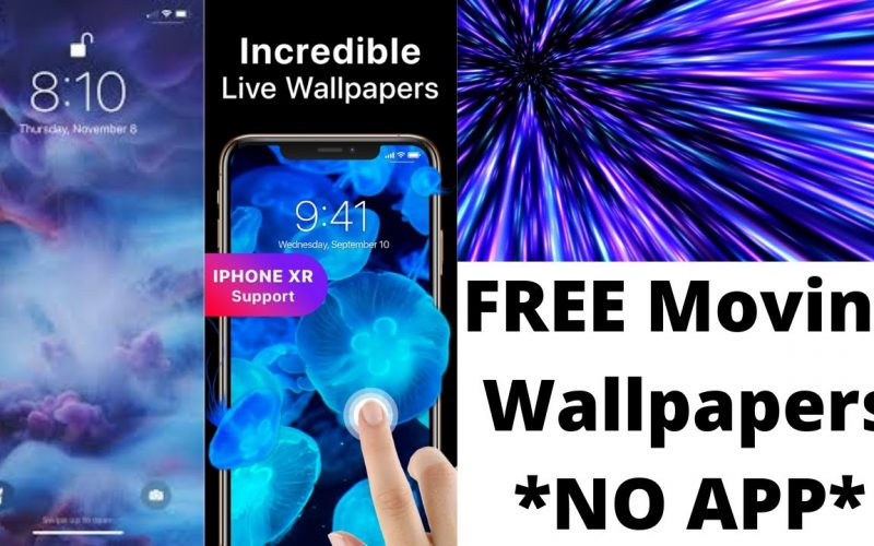 MOVING Wallpapers on iPhone!?