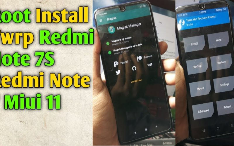 How To Root Redmi Note 7S | Redmi Note 7 | Twrp Install | Miui 11 | Root Xiaomi Redmi Note 7S/7