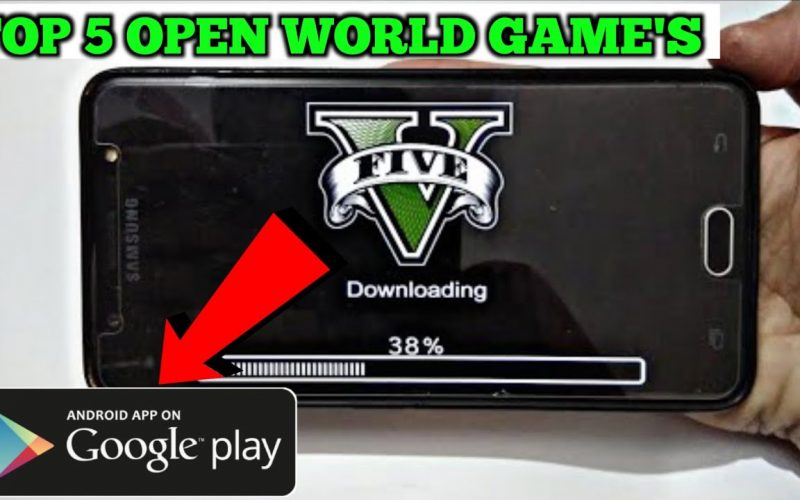 TOP 5 OPEN WORLD GAME'S FOR ANDROID ( LIKE GTA 5 GAME'S IN ANDROID ) BEST ANDROID GAMES 2020