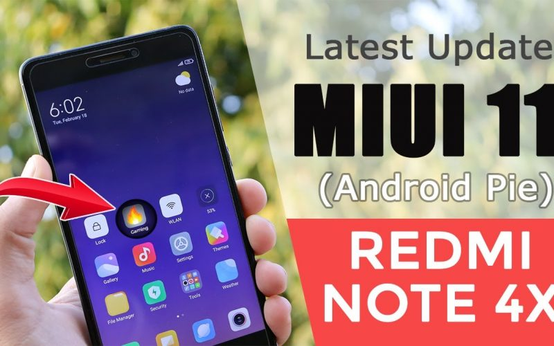 Latest Update – MIUI 11.0.6 Android Pie Based ROM For Redmi Note 4