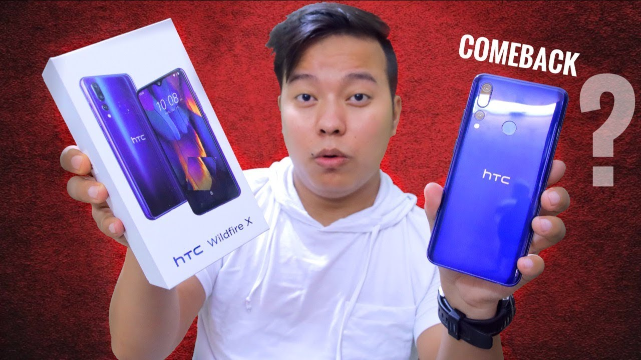 HTC Wildfire X Unboxing & Overview – ComeBack ??