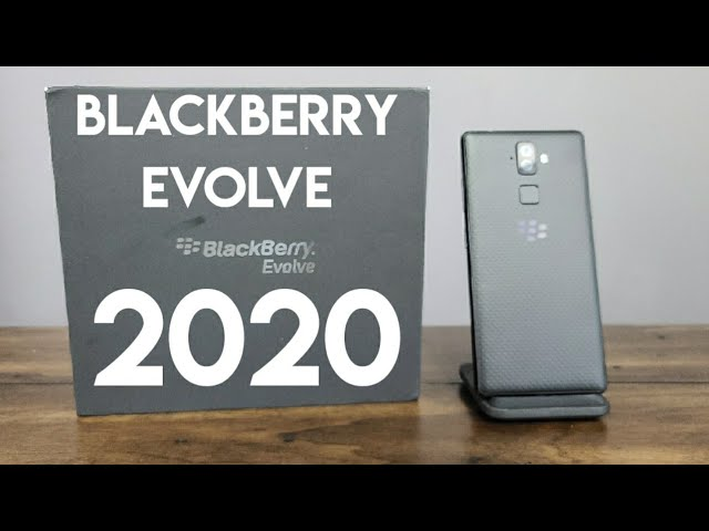 BlackBerry Evolve in 2020 – Unboxing and First Impressions