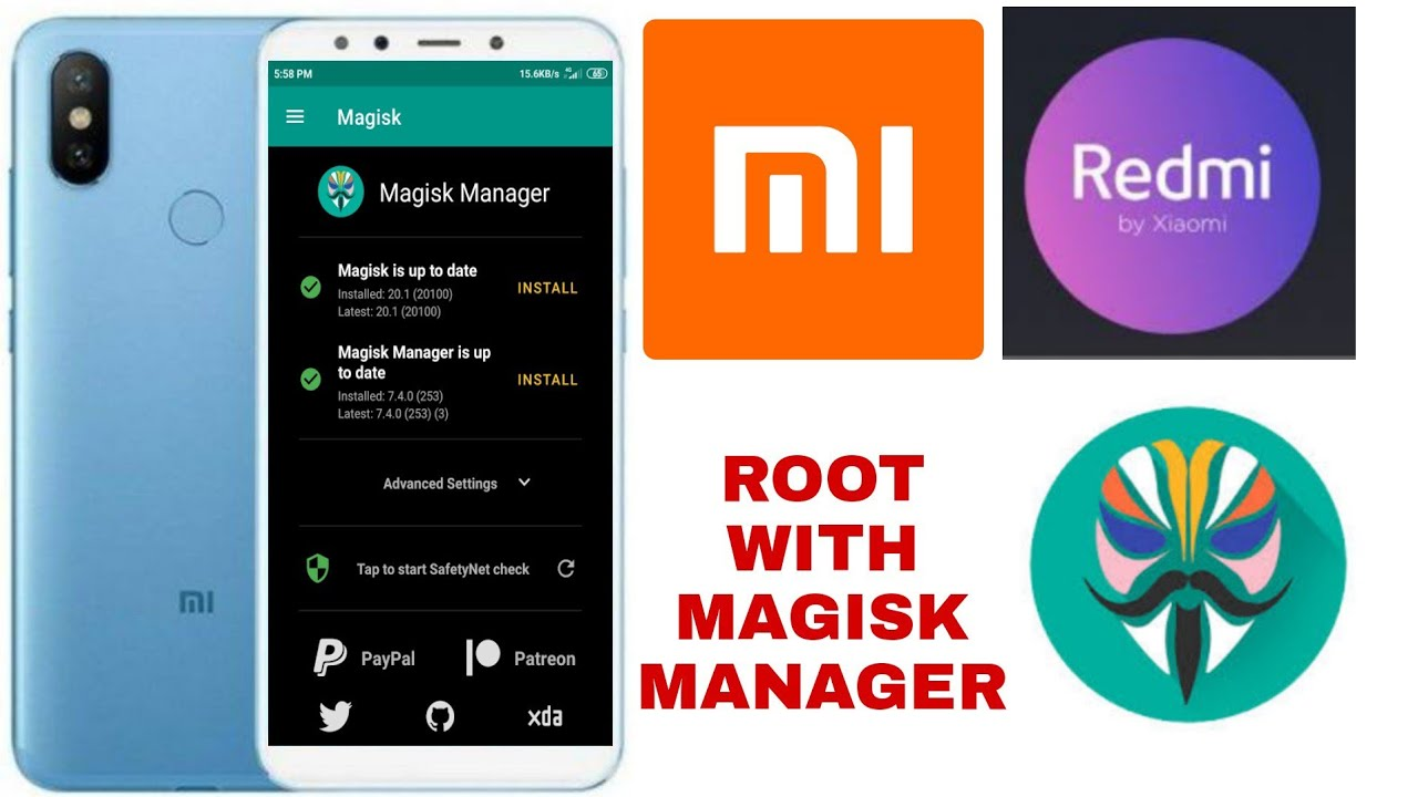 Root Xiaomi Redmi S2/Y2 100% tested. How to root xiaomi redmi? Root with magisk  mannager xiaomi
