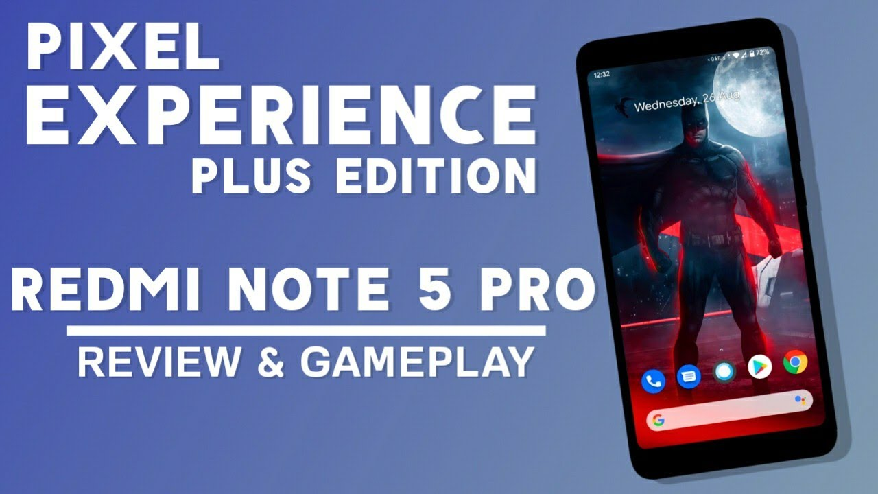 Official Pixel Experience Plus Rom For Redmi Note 5 Pro   August Security Patch   Full Review
