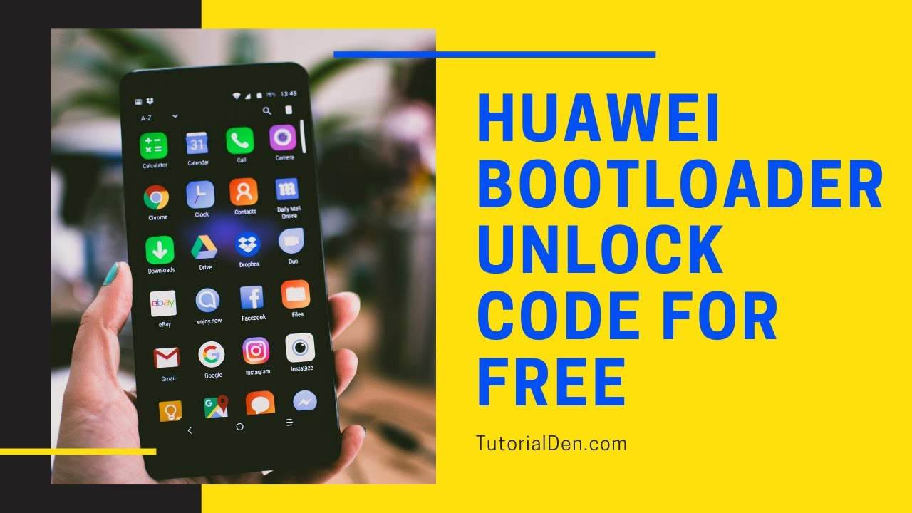 How to get Huawei Bootloader Unlock Code for FREE!