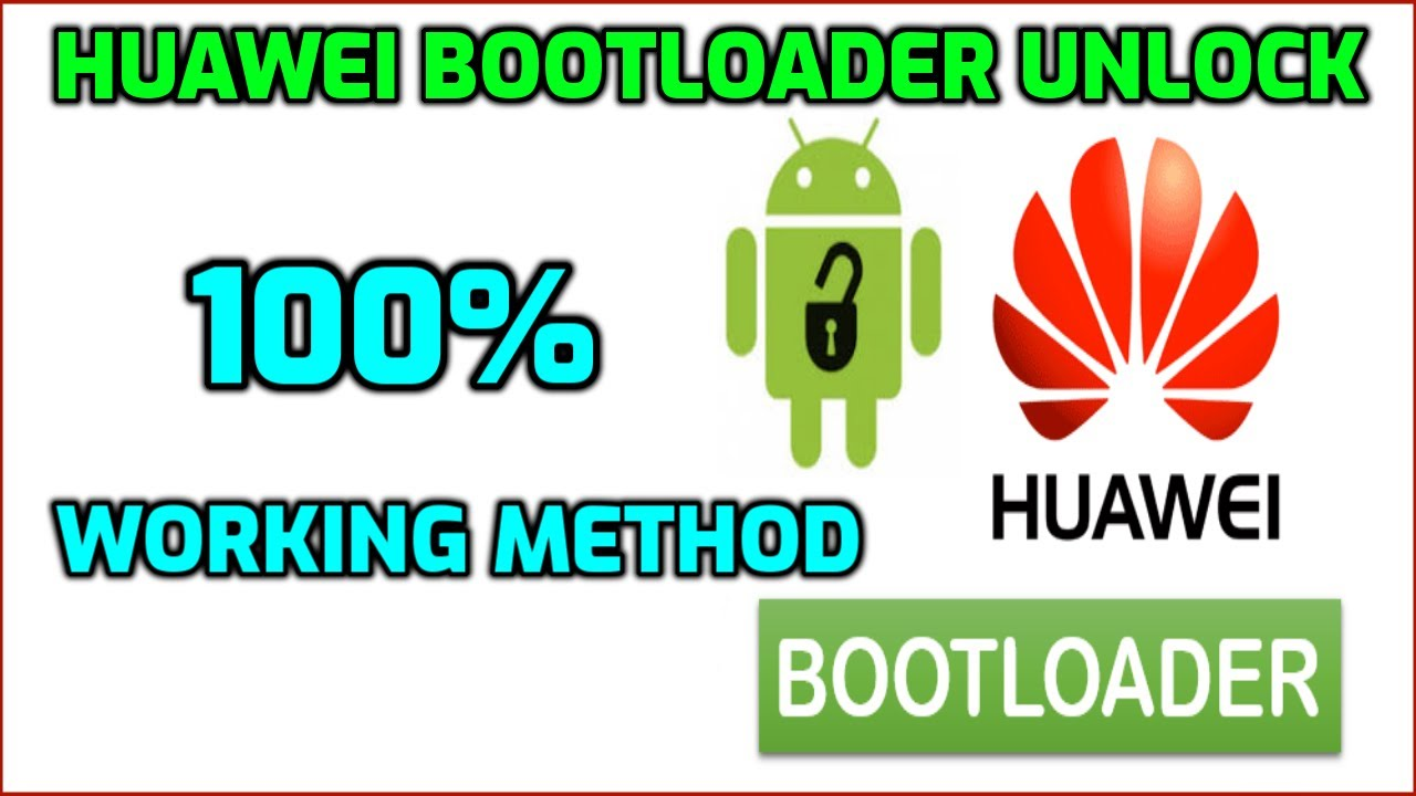 How to Unlock/Relock Bootloader for Huawei 100% Work البوتلودر