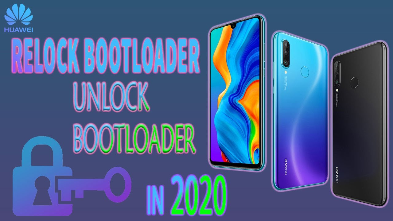 how to relock bootloader | bootloader unlock for huawei with pc | in 2020