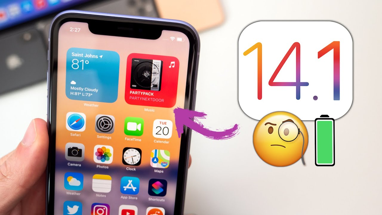 iOS 14.1 Released – What's New?