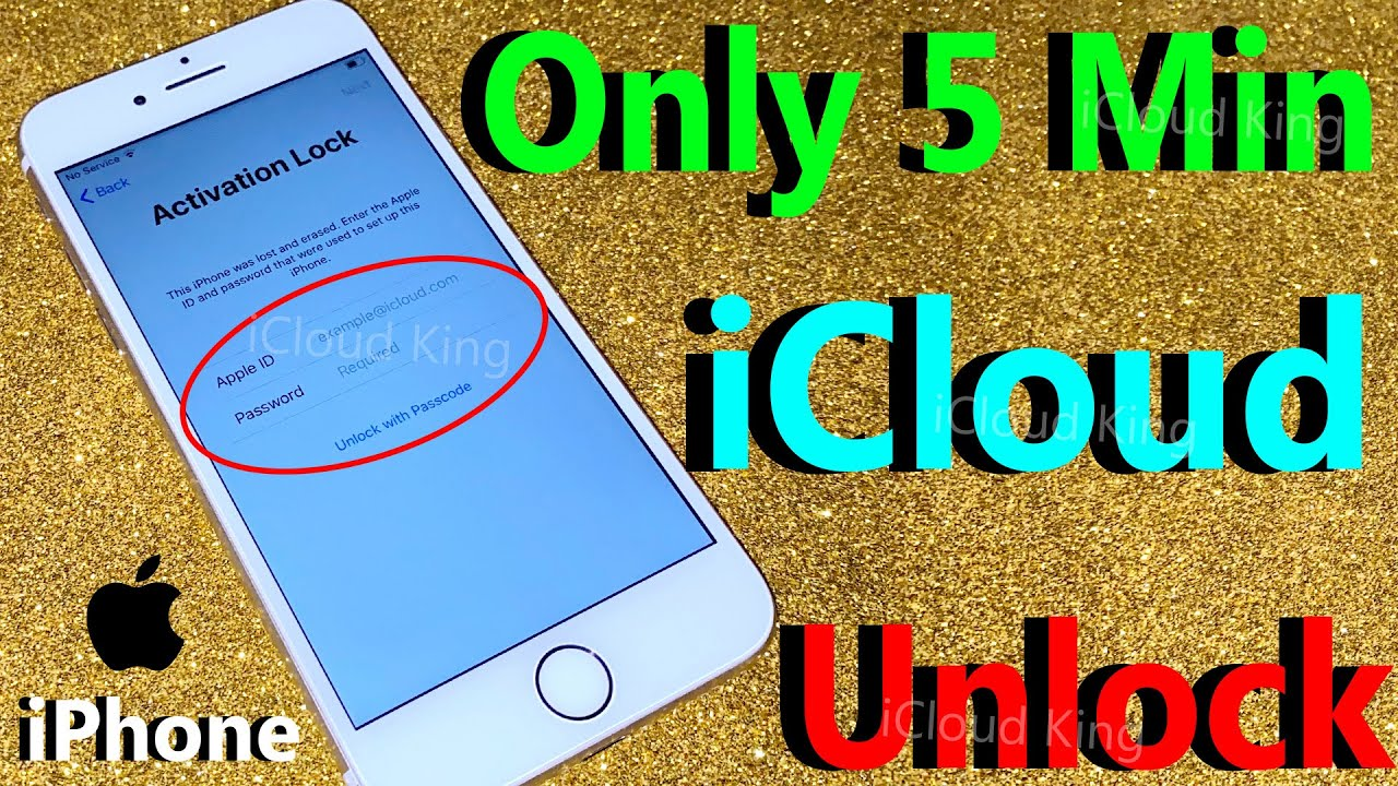 Unlock iCloud Only 5 Min!!! Easy Step how to Unlock Activation Lock iCloud For iPhone 6/7/8/X