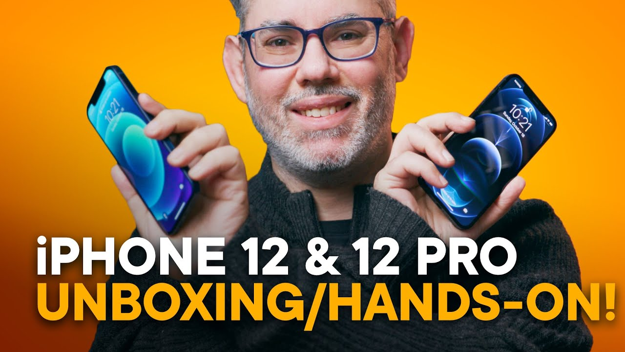 Unboxing iPhone 12 & Pro — Hands-On EVERYTHING!