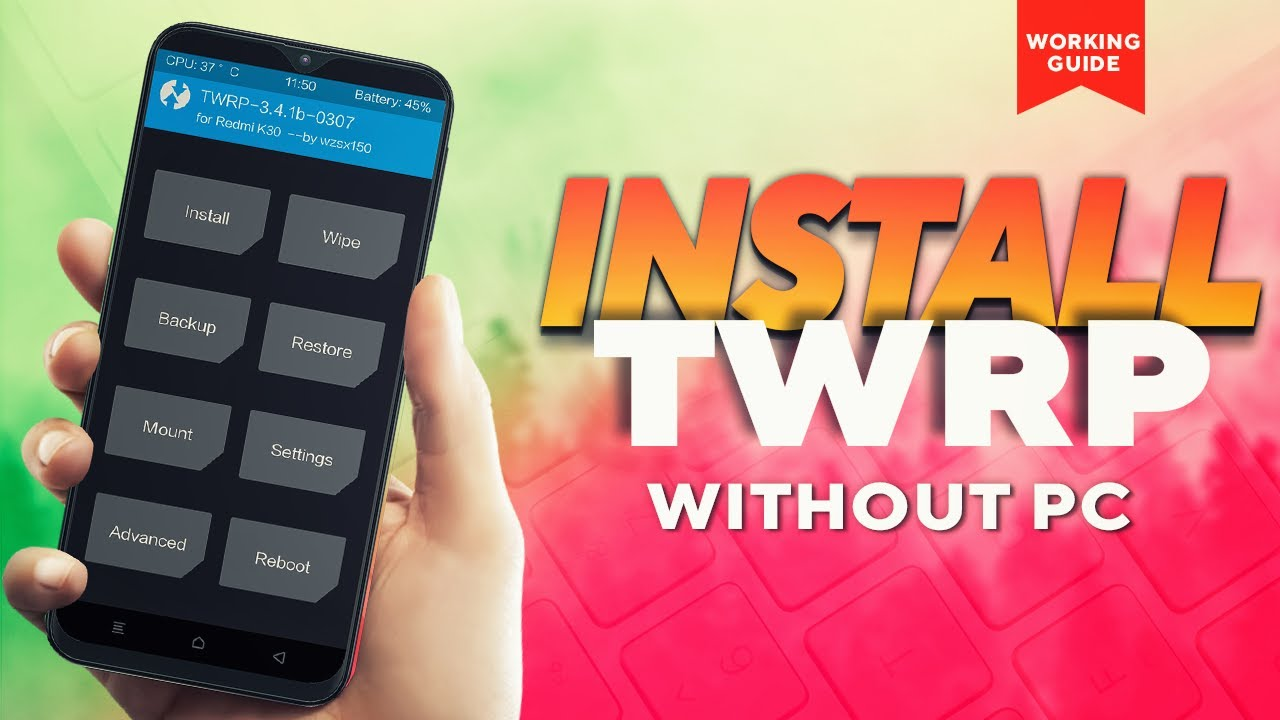 🔥 ROOT ANDROID WITHOUT PC & INSTALL TWRP   APP to Flash TWRP हिंदी